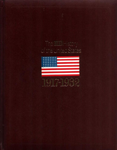 1917-1932 Life History of the United States Hardcover Time Life Education U N/A Time_Life_Education