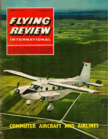 Flying Review International Vol.23 No.6 June 6.1968 Commuter Aircraft Airline U2 N/A Flying_Review_International