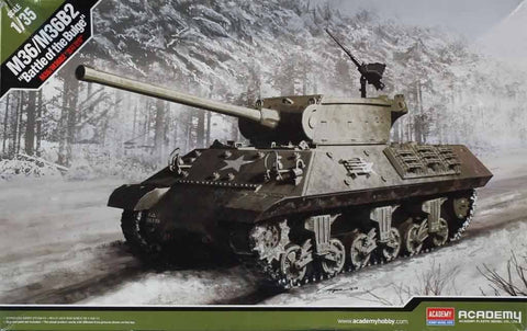 Academy 1:35 M36 M36B2 Battle Of The Bulge Plastic Model Kit #13501U N/A Academy