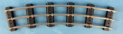 "MTH G Gauge 3 Rail O72 Curve Track Section 14"" Long 11-99094U 4 per Box N/A MTH"