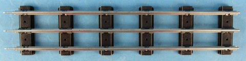 "Lionel G Gauge 3 Rail 14"" Straight Track Section U N/A Lionel"