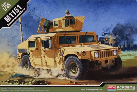 Academy 1:35 M1151 Enhanced Armament Carrier Model Kit #13415 N/A Academy