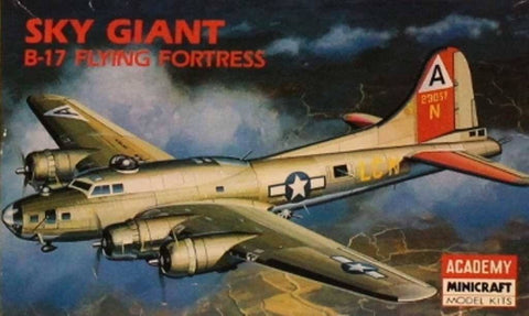 Academy Minicraft 1:200 Sky Giant B-17 Flying Fortress Plastic Model Kit #2102 N/A Academy_Minicraft
