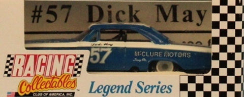 Action Racing Collectables 1:64 #57 Dick May Legend Series Built Model #6301017 N/A Action_Racing_Collectables