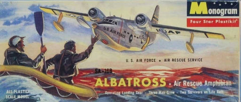 Monogram 1:72 US Air Force Air Rescue Service SA-16B Albatross Air Kit #PA20U N/A Monogram