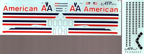 ATP Decal 1:144 American DC-10 Decal Sheet N/A ATP_Decal