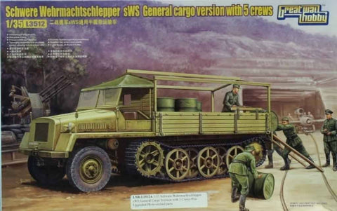 Great Wall Hobby 1:35 Schwere Wehrmacht Schlepper sWS General Cargo Kit #L3512U N/A Great_Wall_Hobby