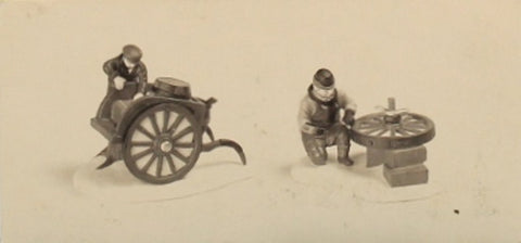 Department 56 C. Bradford Wheelwright & Son 2 pcs Heritage Village #5818-1 N/A Department_56