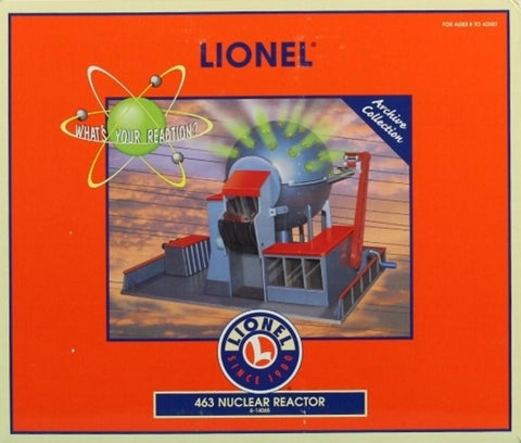 Lionel O Gauge #463 Nuclear Reactor What's Your Reaction Diorama #6-14065 N/A Lionel