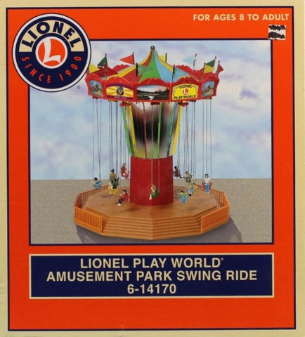 Lionel O Gauge Play World Amusement Park Swing Ride Diorama Accessory #6-14170 N/A Lionel