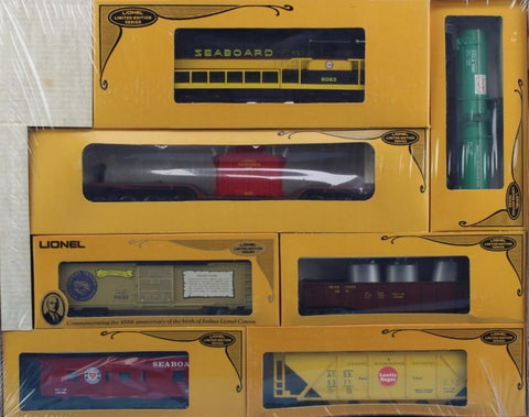 Lionel O Gauge SD-9 Mid-Atlantic Limited Freight Train Set 1980 7 Pcs #6-1071 N/A Lionel