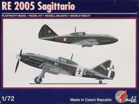 Pavla Models 1:72 Re-2005 Sagittario Plastic Aircraft Model Kit #72040U N/A Pavla_Models