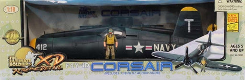 21st Century Toys Ultimate Soldier 1:18 F4Y-1D Corsair Built Model #10127U1 N/A 21st_Century_Toys_Ultimate_Soldier