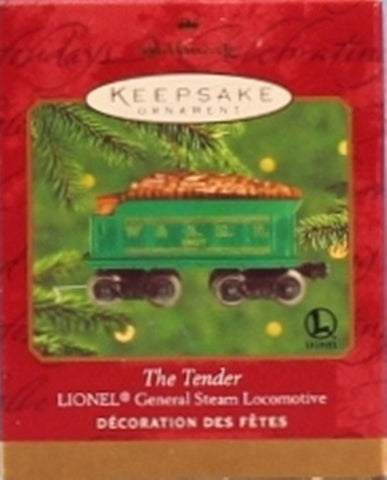 Lionel Hallmark Keepsake Christmas Ornament The Tender #QXI6834 N/A Lionel