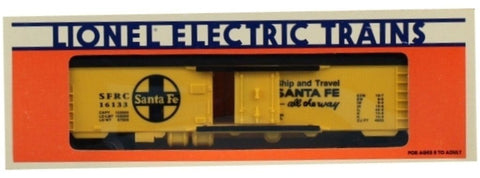 Lionel O Gauge Santa Fe SFRC #16133 Ship and Travel all the way Reefer Box Car Boxcar #6-16133U