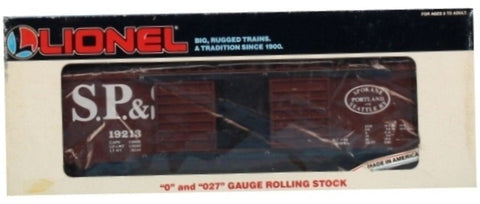 Lionel O Gauge O27 Spokane Portland Seattle S.P & S #19213 Double Door Box Car Boxcar #6-19213U1