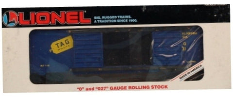 Lionel O Gauge O27 Tennessee Alabama & Georgia TA&G #19231 2 Door Box Car Boxcar #6-19231U