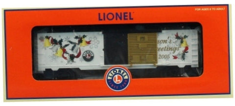 Lionel O Gauge 2005 LRRC Christmas Season Greetings Boxcar Box Car #6-29931U N/A Lionel