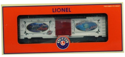 Lionel O Gauge 2008 LRRC Christmas Box Car Boxcar #6-29957U