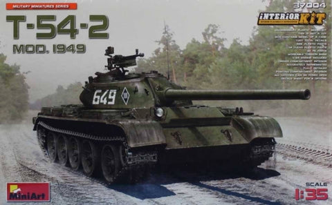 Miniart 1:35 Russian T-54-2 Mod.1949 Interior Kit Plastic Model Kit #37004 N/A MiniArt