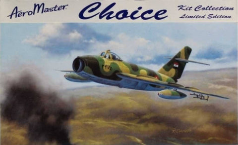 Aero Master 1:48 Mig-17F Choice Limited Edition Multi-Media Kit #CH4802U N/A Aero_Master