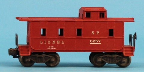 Lionel O Gauge South Pacific SP #6257 Caboose Car #6257U N/A Lionel
