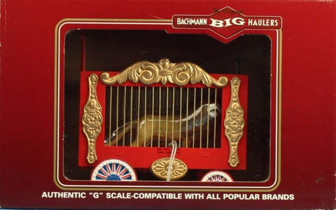 Bachmann G Gauge Big Haulers The Original G Cage Wagon w/ Lion Car #92701U N/A Bachmann
