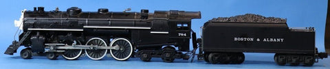 Lionel O Gauge Boston & Albany B&A 4-6-4 Hundson w/ Tender Engine #6-8606U N/A Lionel