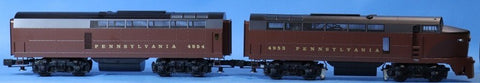 Williams O Gauge Pennsylvania Baldwin Sharknose Cab #4953 Engine #4954 #4400U N/A Williams