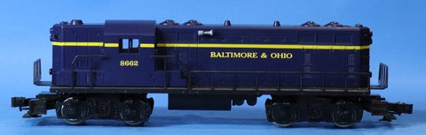 Lionel O Gauge Baltimore & Ohio B&O #8662 GP-7 Diesel Locomotive Engine #6-8662U N/A Lionel