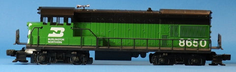Lionel O Gauge Burlington Northern BN #8650 U-36B Engine Locomotive #6-8650U N/A Lionel