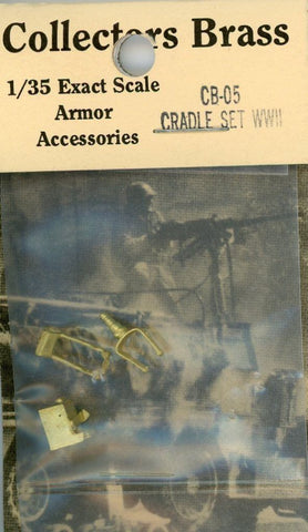 Collectors Brass Combat Series 1:35 Cradle Set WWII Metal Detail #CB-05 N/A Collectors_Brass