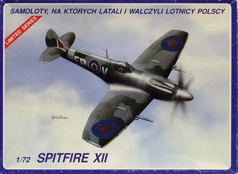 ABC Modelfarb Warrior Model 1:72 Spitfire XII Aircraft Plastic Model Kit #7205 7TS1, New, ABC_Modelfarb
