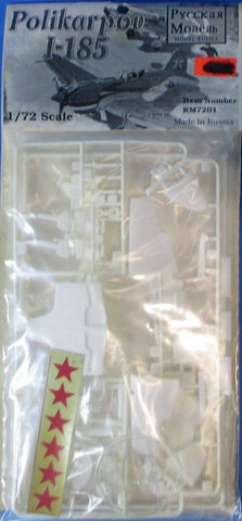 Model Russia 1:72 Polikarpov I-185 WWII Soviet Fighter Plastic Kit #RM7201 N/A Model_Russia