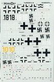 Komman Deur Decal 1:48 Fw-190 D-9 & D-13 Decal Sheet #KD4802FD N/A Komman_Deur_Decal