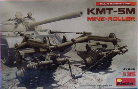 Miniart 1:35 KMT-5M Mine Roller Plastic Model Kit #37036 N/A Miniart