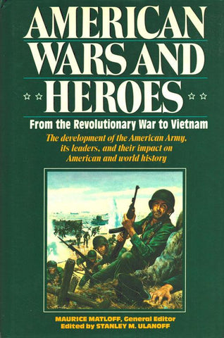 American Wars And Heroes By Maurice Matloff Hardcover Book Random House N/A Random_House_Value_Publishing