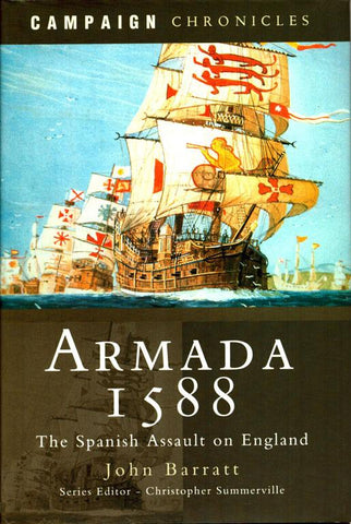 Armada 1588 by John Barratt Hardcover Book Pen and Sword Military N/A Pen_and_Sword_Military