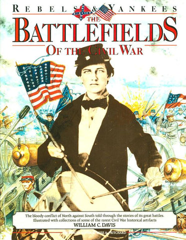 Battlefields Of The Civil War By William C. Davis Hardcover Gallery Books N/A Gallery_Books
