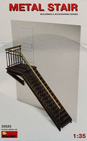 MiniArt 1:35 Metal Stair Plastic Diorama Accessory #35525U N/A Miniart