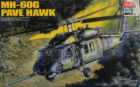 Academy MRC 1:35 MH-60 G Pave Hawk Helicopter Plastic Model Kit #FA203 #2201U N/A Academy