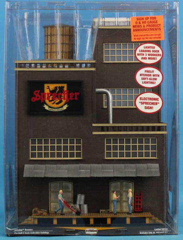 Menards O Gauge Sprecher Brewery Gold Line Collection Limited Edition #279-4493U N/A Menards