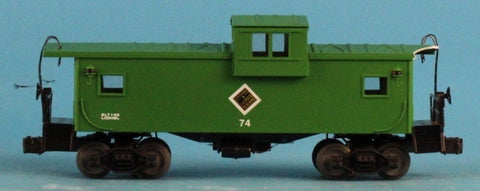 Lionel O Gauge Chicago and illinois #74 Midland Caboose Car U N/A Lionel
