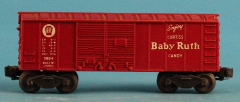 Lionel O Gauge Enjoy Curtiss Baby Ruth Candy Freight #X6014 Box Car Boxcar U N/A Lionel