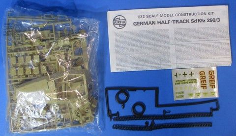 Airfix 1:32 German Half-track Sd.Kfz.250/3 Plastic Model Kit #6501-6U N/A Airfix