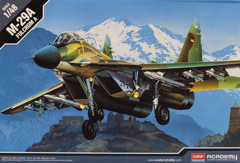 Academy 1:48 M-29 A Fulcrum A Plastic Aircraft Model Kit #12263 N/A AFV_Club