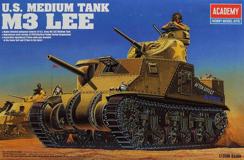Academy 1:35 US Medium Tank M3 Lee Model Kit #13206 N/A AFV_Club