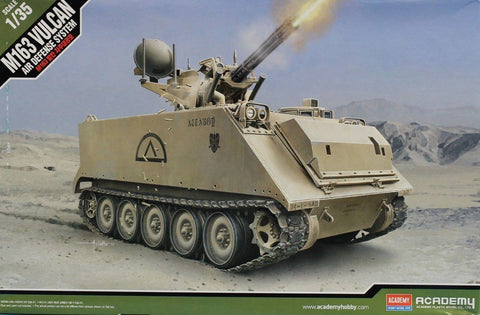 Academy 1:35 M163 Vulcan Air Defense System SPAAG Plastic Model Kit #13507U N/A AFV_Club