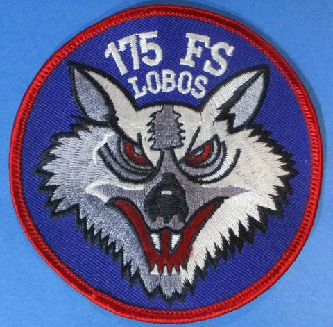 "175 FS Lobos 3 5/8"" x 3 5/8"" Shoulder Patch N/A OEM"