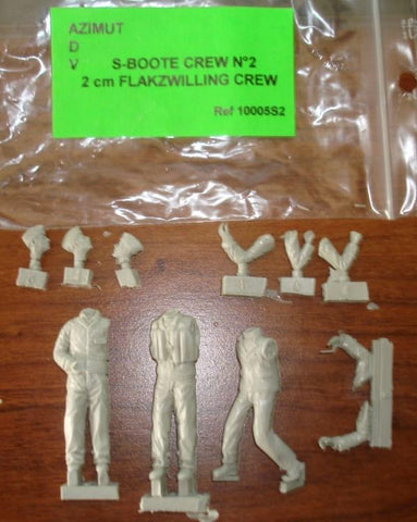 Unassembled Unpainted Figure Kit